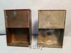 Original Civil War. 58 cal. Cartridge Box Tins