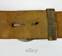Original Civil War Breast Plate Cross Strap with Sword Frog Excellent Condition