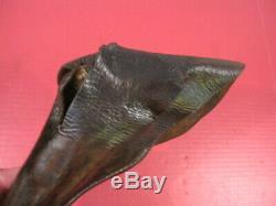 Original Civil War Era Non- Regulation Leather Holster Colt 1849 Navy Revolver