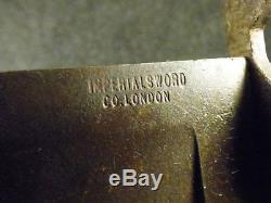 Original Civil War Era Rifleman's Bowie Knife Imperial Sword Co London CSA