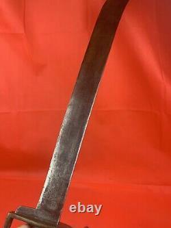 Original Civil War Naval Cutlass Confederate Issue Espada Ancha