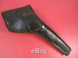 Original Civil War Non- Regulation Leather Holster Colt 1860 Army Revolver #1
