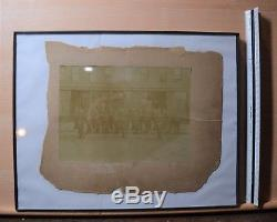 Original Civil War Picture -Beautiful photo of Soldiers before Battle- large CDV