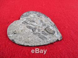 Original Dug CIVIL War Heart Martingale Recovered Mufreesboro Tn