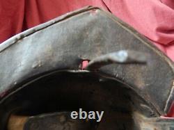 Original English Civil War Lobster Cavalry Helmet 1640's RARE