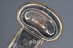 Original Indian War or Civil War Pair of Brass and Nickel Cavalry Epaulettes