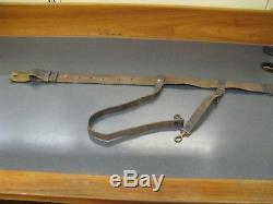 Original No 512 U. S Civil War Artillery Officers Belt and Buckle w Sword Hangers