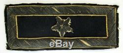 Original Single Civil War Era Brigadier-General Shoulder Board / Strap
