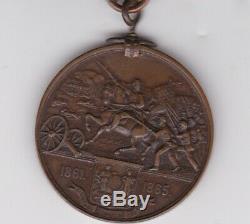 Original West Virginia Civil War Killed in Battle Commemorative Medal not named