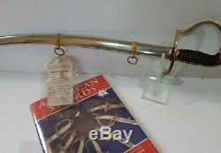 Post CIVIL War M1872 Officer Sword Most Important Important Collection Medicus