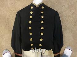 Post Civil War 1866 Pattern Officer's full dress uniform. Inv606