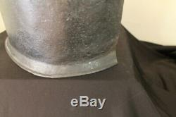 Post Medieval English Civil War Cuirassier Backplate armor cavalry Original 1640