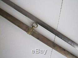 Post US Civil War Model 1860 GAR Sons of Veterans Staff & Field Sword withScabbard