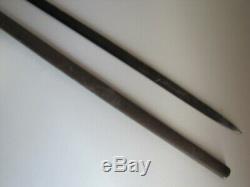 Post US Civil War Model 1860 Staff & Field Sword withScabbard-W. Clauberg Solingen