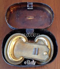 Pre Civil War Captain's Epaulettes in original case