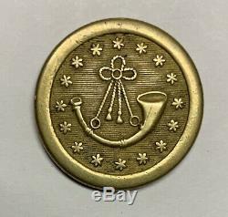 Pre Civil War Rifleman Coat Button