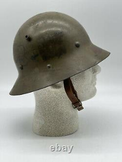 Pre-WWII -WWI Czech Helmet from the Spanish Civil War era