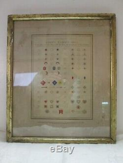 RARE Army of the United States Corps Badges 1865 Civil War Poster