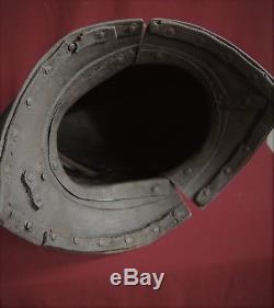 RARE! ECWith English Civil War close burgonet heavy cavalry helmet. Circa 1620