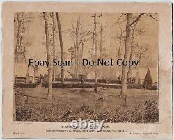 RARE Orig Albumen Photo Timothy H O'Sullivan 1864 Civil War Hospital Gardner