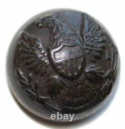 Rare Berdan Sharpshooter Cuff Button Full Shank Civil War 22mm Fredericksburg VA