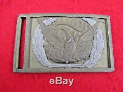 Rare CIVIL War M1851 Applied Eagle Allegheny Arsenal Sword Plate Buckle