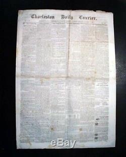 Rare CONFEDERATE Battle of Middle Creek Kentucky 1862 Old Civil War Newspaper