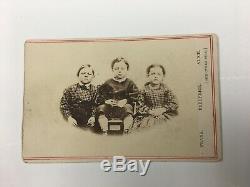 Rare Children of the Battlefield CDV Amos Humiston Gettysburg Civil War Photo