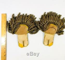 Rare Fine Pair of Civil War Epaulettes