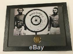 Rare Mobile Cadets Civil War Confederate Button Full Shank Non Dug Great Gilt