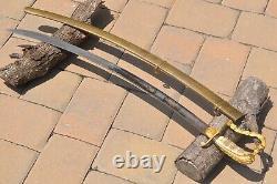 Rare Mounded Artillery Officer's American Saber PARTA TUERT Pre Civil War Sword