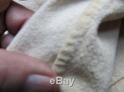Rare Original Thin Wool Civil War Soldier's Sheeting Blanket, Identified, Sutler