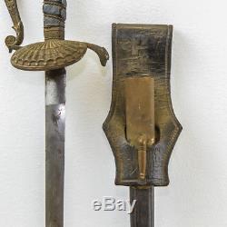 Rare Us Pre CIVIL War Horstmann New York Philadelphia Officer Sword