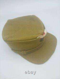 Rare WW1 Russian Civil War Czech Legion Cap, Russian Infantry hat White Army
