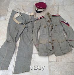 Russian Civil War Colonel Drozdovsky regiment White Guards Officer's Uniform Cap