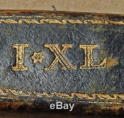 SMALL Antique IXL 5 Double Edge DAGGER Circa 1850 US Civil War era Bowie Knife