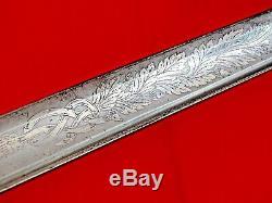 SUPERB CIVIL WAR AMERICAN NAVY USN M1852 NAVAL SWORD ANTIQUE blade dagger dirk