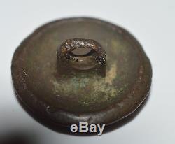 Solid Cast Confederate Civil War Coat Button C. S. A CSA Blank