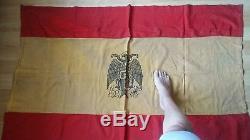 Spanish CIVIL War Nacionalist Fascist Battle Flag Francos Army Falangist Wwii