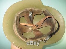 Spanish eibar M34/38 helmet civil war casque stahlhelm casco elmo franco
