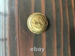 State of North Carolina staff officers civil war coat button non dug