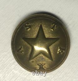 Texas Civil War Coat Button