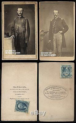 Two Civil War Soldiers Rogers Brothers 177th Ohio & 16th Wisconsin Surgeons