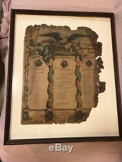 UNION CIVIL WAR SWORD Saber Iowa Volunteers 1864 with SCABBARD & Documents
