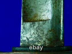 US Civil War Antique 19 Century Ames Artillery Sword