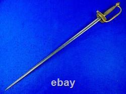 US Civil War Antique Old Ames NCO Officer's Sword