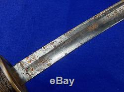 US Civil War German or French Import Model 1840 Cavalry Sword with Scabbard