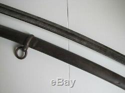 US Civil War Model 1860 J. E. Bleckmann Cavalry Sword withScabbard