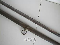 US Civil War Model 1860 Pettibone Staff & Field Presentation Sword withScabbard