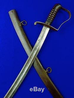 US Civil War N. Starr Cavalry Sword with Scabbard